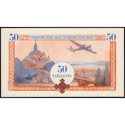 Billet de 50 vaillants - 4ème série /A - 1938-1943 - Etat : NEUF