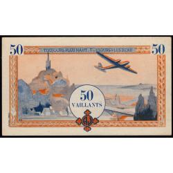 Billet de 50 vaillants - 4ème série /B - 1938-1943 - Etat : pr.NEUF