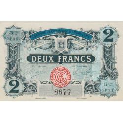 Angoulême - Pirot 9-38 - 2 francs - 5ème série - 11/04/1917 - Etat : SPL