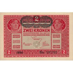 Autriche - Pick 50 - 2 kronen - 1919 - Etat : pr.NEUF