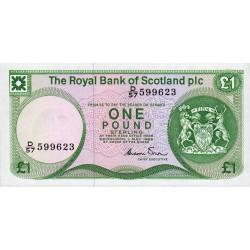 Ecosse - Pick 341Aa - 1 pound sterling - 1986 - Etat : NEUF