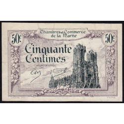 Châlons-sur-Marne / Epernay / Reims - Pirot 43-1 - 50 centimes - 10/10/1920 - Etat : SPL