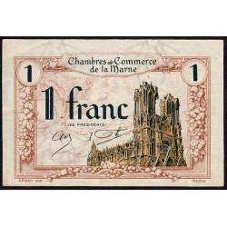 Châlons-sur-Marne / Epernay / Reims - Pirot 43-2 - 1 franc - 10/10/1920 - Etat : SUP+