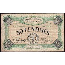 Chartres (Eure-et-Loir) - Pirot 45-5 - 50 centimes - 1917 - Etat : TB-