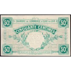 Chartres (Eure-et-Loir) - Pirot 45-1 - 50 centimes - 1915 - Etat : NEUF