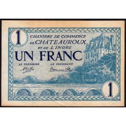 Chateauroux (Indre) - Pirot 46-26 - 1 franc - 1920 - Etat : SUP+