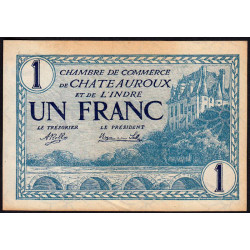 Chateauroux (Indre) - Pirot 46-26 - 1 franc - Etat : SUP+