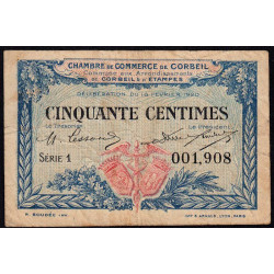 Corbeil - Pirot 50-1 - 50 centimes - 1920 - Etat : TB-