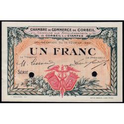 Corbeil - Pirot 50-4 - 1 franc - Spécimen - 1920 - Etat : SUP+