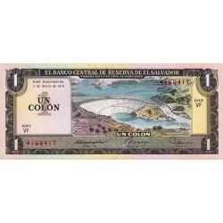 El Salvador - Pick 125b - 1 colon - 1979 - Etat : NEUF