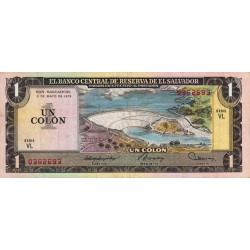 El Salvador - Pick 125b - 1 colon - 03/05/1979 - Etat : TTB