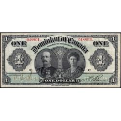 Canada - Pick 27b - 1 dollar - 1911 - Etat : TB+ à TTB