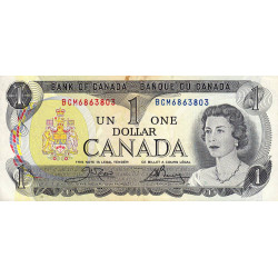 Canada - Pick 85c1 - 1 dollar - 1984 - Etat : TB