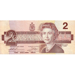 Canada - Pick 94b1 - 2 dollars - 1987 - Etat : TB