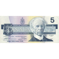 Canada - Pick 95b2 - 5 dollars - 1990 - Etat : TTB