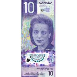Canada - Pick 113 - 10 dollar - 2018 - Polymère - Etat : NEUF