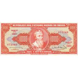 Brésil - Pick 181 - 1'000 cruzeiros - 1963 - Etat : NEUF