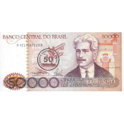 Brésil - Pick 207 - 50 cruzados - 1986 - Etat : NEUF