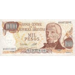 Argentine - Pick 304b_2 - 1'000 pesos - Série E - 1976 - Etat : TB+