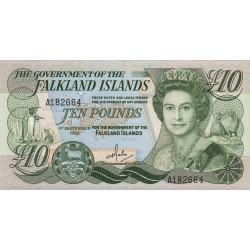 Falkland (iles) - Pick 14 - 10 pounds - Série A - 01/09/1986 - Etat : NEUF