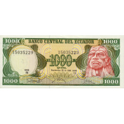 Equateur - Pick 125a_IN - 1'000 sucres - 1986 - Etat : NEUF