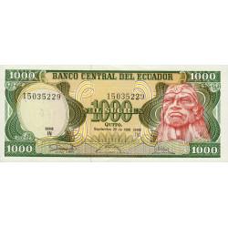 Equateur - Pick 125a_IN - 1'000 sucres - 29/09/1986 - Etat : NEUF