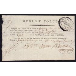 Pas-de-Calais - Arras - Révolution 1797 - Coupille de l'emprunt forcé - Etat : SPL
