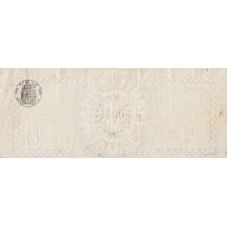 Droit proportionnel - 1896 - 10 centimes - Etat : TTB