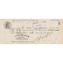 13 - Marseille - Droit prop. - 1890 - 15 centimes - Etat : SUP