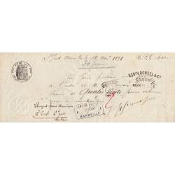 13 - Marseille - Droit prop. - 1890 - 20 centimes - Etat : SUP