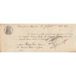 13 - Marseille - Droit prop. - 1891 - 20 centimes - Etat : TTB