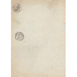 07 - Droit fixe - 1814 - 25 centimes - Etat : TTB+