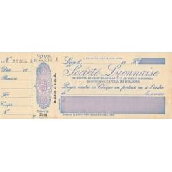 Société Lyonnaise - 1890 - Etat : SPL
