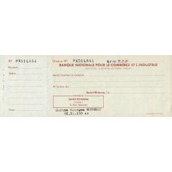 Banque Nationale pour le Commerce et l'industrie - 1960 - Etat : TTB