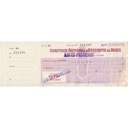 Comptoir National d'Escompte de Paris - 1948 - Etat : TTB