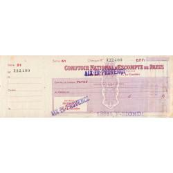 Comptoir National d'Escompte de Paris - 1948 - Etat : TTB-