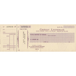 Crédit Lyonnais - 1941 - Etat : SUP+