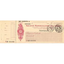 Société Marseillaise de Crédit - 1933 - Etat : SPL