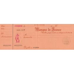 Banque de France Avignon - 1930 - Etat : SPL