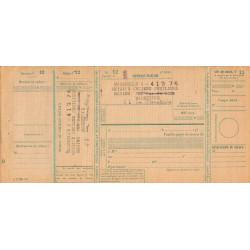 Chèque Postal - 1939 - Etat : TTB