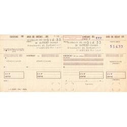 Chèque Postal - 1964 - Etat : SUP