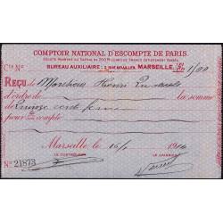 Comptoir National d'Escompte de Paris - 1914 - Etat : SUP