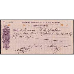 Comptoir National d'Escompte de Paris - 1935 - Etat : TTB