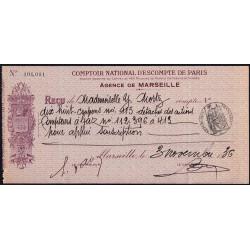 Comptoir National d'Escompte de Paris - 1936 - Etat : TTB