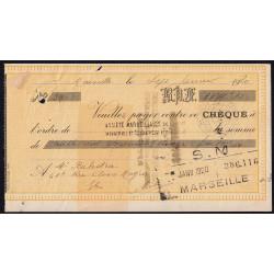 Société Marseillaise de Crédit - 1920 - Etat : TB+