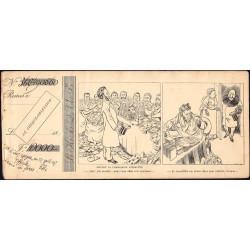 Le chèque obsession - 1892 - 10 feuillets - Etat : TTB