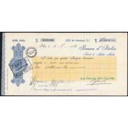 Ethiopie - Occup. italienne - 7000 lire - 04/08/1939 - Etat : SPL