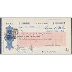 Ethiopie - Occup. italienne - 10'050 lire - 07/08/1939 - Etat : SPL