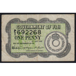 Fiji - Pick 47 - 1 penny - 01/07/1942 - Etat : TB+