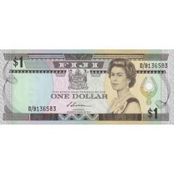 Fiji - Pick 86 - 1 dollar - 1987 - Etat : NEUF